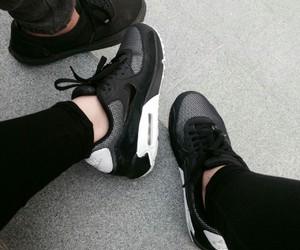 black image