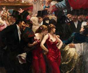 ball, party, and art image