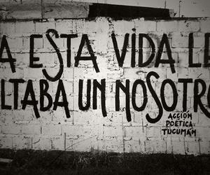 vida, nosotros, and accion poetica image