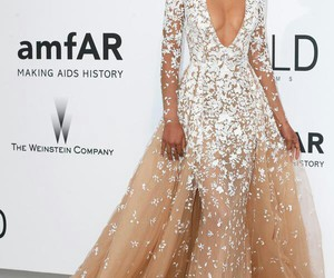 dress, beautiful, and Chanel Iman image