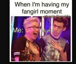 fangirl and tyler oakley image