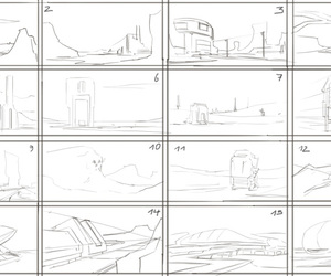 conceptart, environment, and drawing image