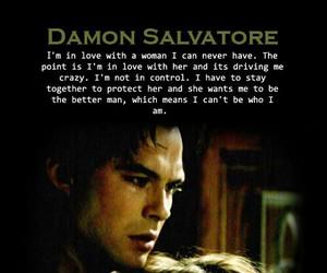 damon, the vampire diaries, and tvd image