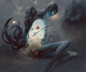 art, dark, and fantasy image