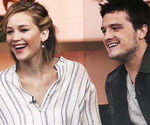 joshifer, Jennifer Lawrence, and josh hutcherson image