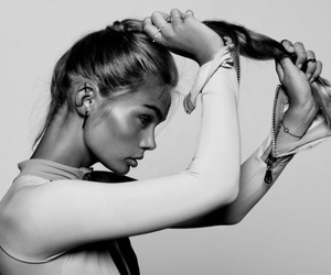 hair, fashion, and model image