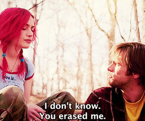 eternal sunshine of the spotless mind, erase, and jim carrey image