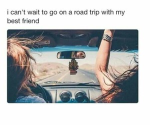 best friends, roadtrip, and bff image