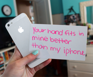 iphone, love, and quote image