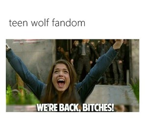 teen wolf, fandom, and the 100 image