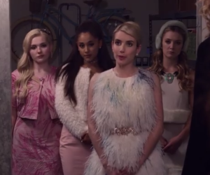 ariana grande and scream queens image