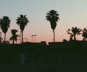 beach, california, and indie image