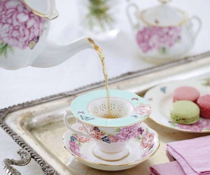 beautiful and tea image