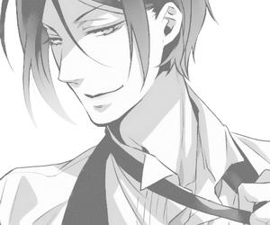 black butler, kuroshitsuji, and sebastian image