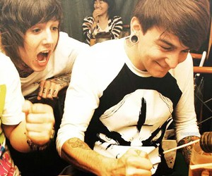 band, funny, and oliver sykes image