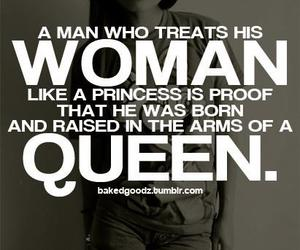 Queen, princess, and quote image