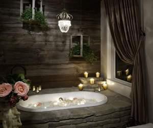 amazing, bathtub, and bathroom image
