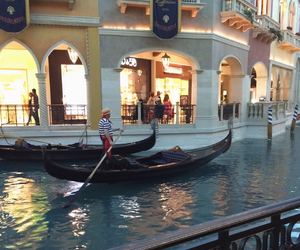gondola, travel, and venice image