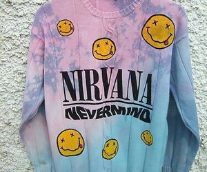 nirvana, grunge, and Nevermind image