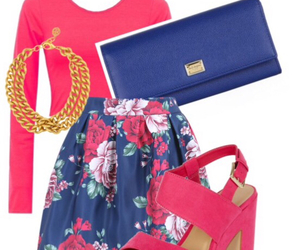 accessories, classy, and floral pattern image