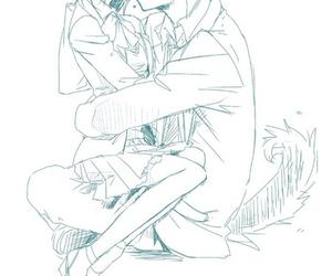 blush, kiss, and ittoki otoya image