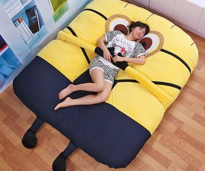 minions and bed image