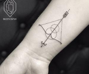 arrow, cool, and Sagittarius image