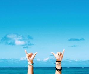beach, fun, and life image