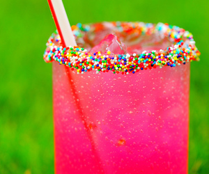 pink, drink, and summer image