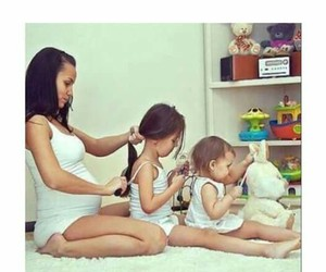 baby, family, and kids image