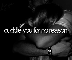 cuddle, quote, and hug image