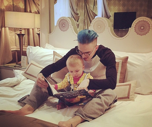 baby, book, and buzz image