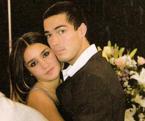 dulce maria, poncho, and RBD image