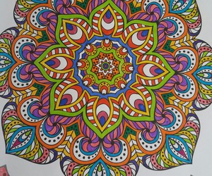 art therapy, colouring book, and relaxing time image