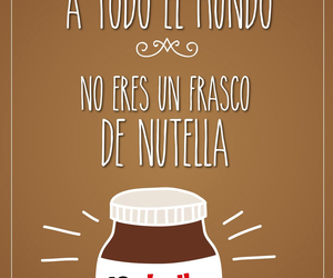 life, nutella, and quotes image