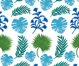 green, leaves, and pattern image