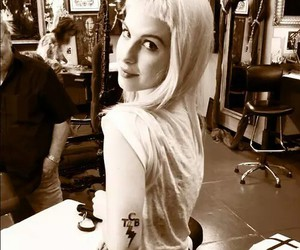 hayley williams, paramore, and tattoo image