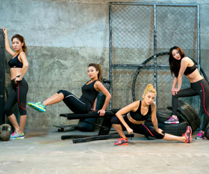 sistar, fitness, and kpop image