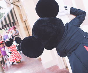 disney, mickeymouse, and disneyland image