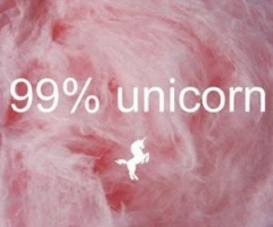 unicorn, pink, and 99% image