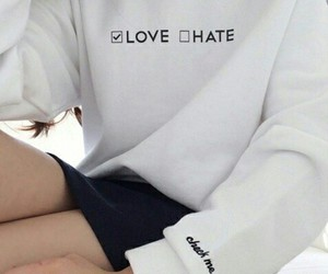 black, fashion, and hate image