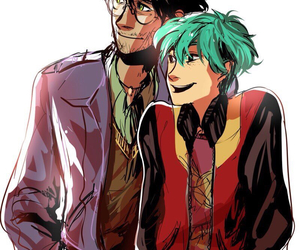 harry potter and teddy lupin image