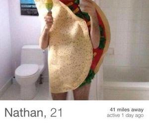funny, taco, and single image