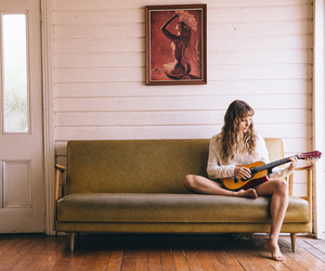 guitar, lounge, and byron bay image