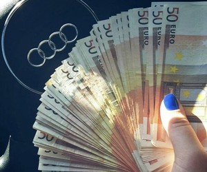 audi, money, and car image