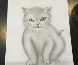 adorable, drawing, and sketch image