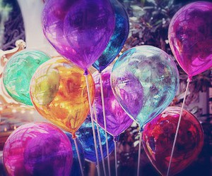 balloons, colors, and pretty image