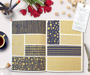 etsy, patterns, and digital paper image
