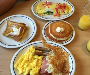 breakfast, food porn, and french toast image