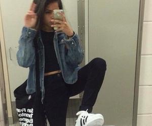 black, cool, and girl image